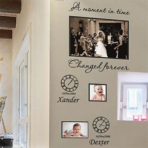 Personalized-Family-Children-Photo-Frames-Art-Wall-Stickers-Quotes ...
