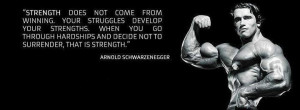 The definition of strength by Arnold by Arnold