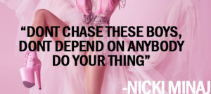 boys, love, minaj, nicki, nicki minaj, quote