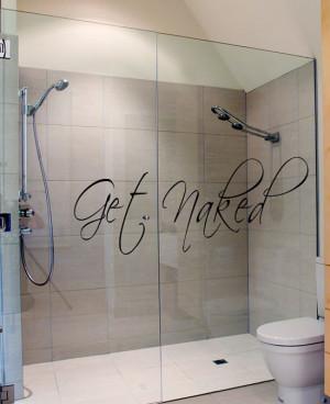 Cool Bathroom Wall Sticker Design