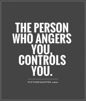 The One That Angers You Controls
