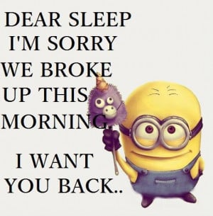 bedtime quotes and sayings By Minions….(5 Photos)   Minion Fans ...