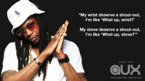 Chainz Lyrics Quotes 20 worst rap lyrics of 2013