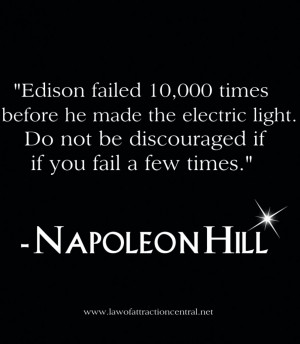 Napleon Hill Quote