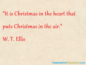 Would you add another quote to our list of Christmas quotes? What's ...