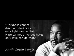 Motivational Wallpaper Quote By Martin Luther King Jr. on Darkness ...