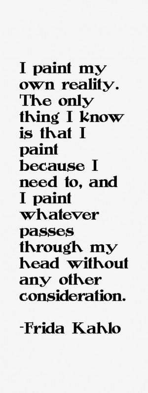 Frida Kahlo Quotes & Sayings