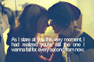 As I stare at you this very moment I had realized you are still the ...