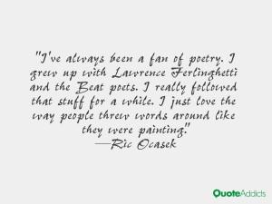 Ric Ocasek Quotes