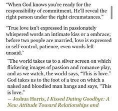 A Response to I Survived I Kissed Dating Goodbye - The Christian Post