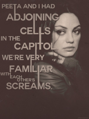 Kathryn , and this is a Hunger Games appreciation blog. { x }