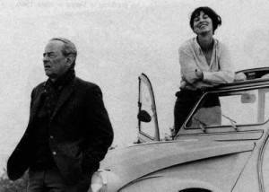 Pix : Witold Gombrowicz et Rita Labrosse, 1966.