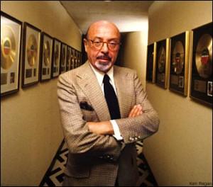 Late legendary music mogul Ahmet Ertegun is the subject of a ...