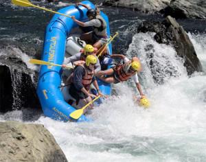 Rafting Crash, White Water Rafting Tournament, American River - an ...