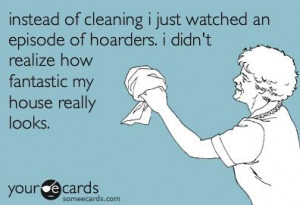 Funny ecard – House cleaning