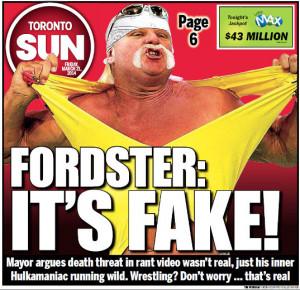 Hulk Hogan Rob Ford