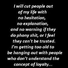 . Already started. Don't need sneaky, disloyal, untrustworthy people ...