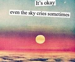 Darling, you'll be okay.