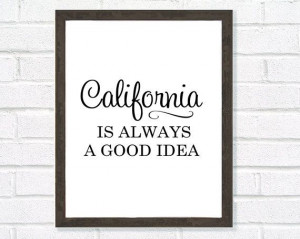 Audrey Hepburn Quote-Typography Poster-California Print-Black and ...