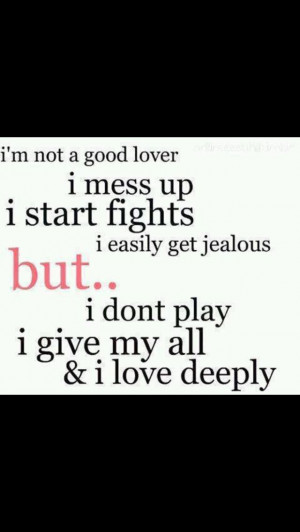 Love someone no matter what