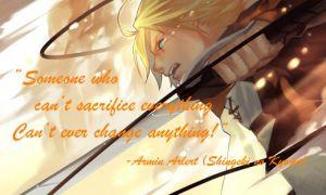 Armin Arlert Quote by TenebraeVonRieges
