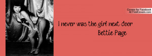 Bettie Page Facebook Cover Timeline Funny