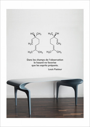 Science art chemistry - Louis Pasteur inspirational quote and ...