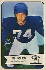 Ken Jackson American football