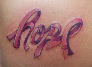 Hope - Breast Cancer Awareness by allentattoo