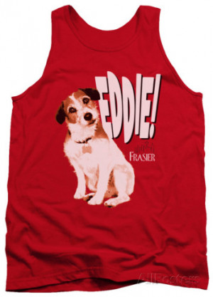 Tank Top: Frasier - Eddie Tank Top