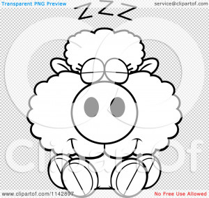 File Name : Cartoon-Clipart-Of-A-Black-And-White-Cute-Baby-Sheep ...