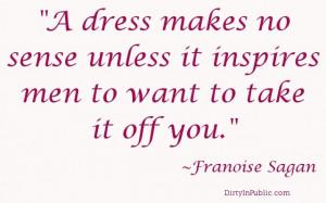 dress makes no sense... #quote