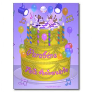 Happy Birthday Football Card Postcard Zazzle