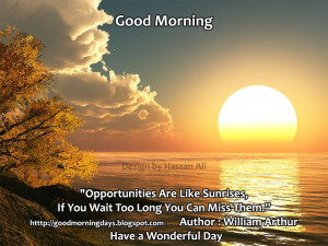 good morning wednesday inspiring quotes for the day please wait the ...