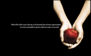 twilight quote wallpaper 1 by wow1200 fan art wallpaper movies tv 2009 ...