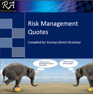 ... compilation of risk management quotes: Risk-Management-Quotes-eBook