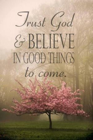 Trust God ^_^