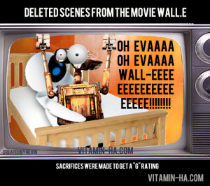 Deleted scene from the movie Wall-E