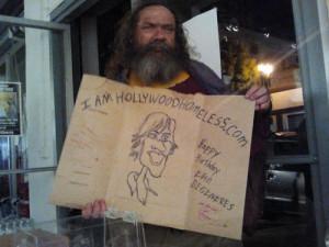 funny homeless sign ellen