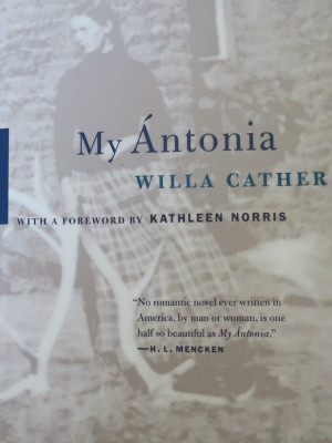 American dream in the novel my antonia by willa cather