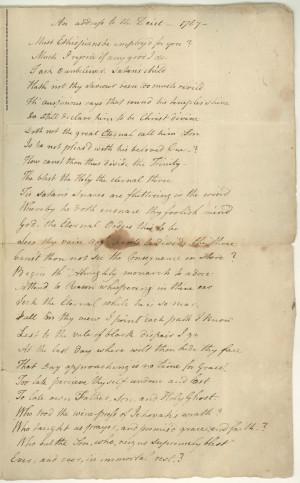Phillis Wheatley Poems Poetry