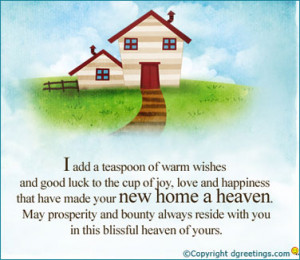 You may build a house with your hand but to build a home, you will ...