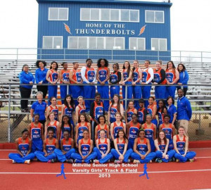Girls Track and Field Team
