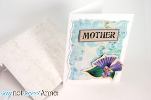Printable Mother's Day Card in 3D! | Sweet Anne Handcrafted Designs