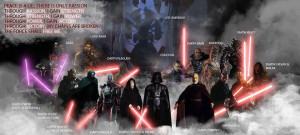 Sith Lords Gathering Darth Vader Sith Emperor