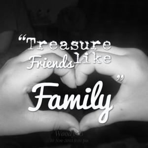 Best Friends Like Family