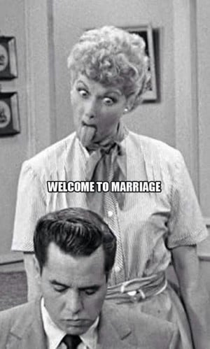 welcome to marriage. lucy and desi: Laugh, Lucile Ball, Lucille Ball ...
