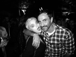 Derek Blasberg's Paris Fashion Week Diary - Sky Ferreira with Givenchy ...