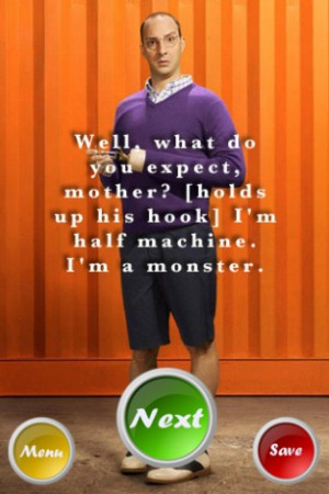 View bigger - Buster Bluth Quotes for Android screenshot