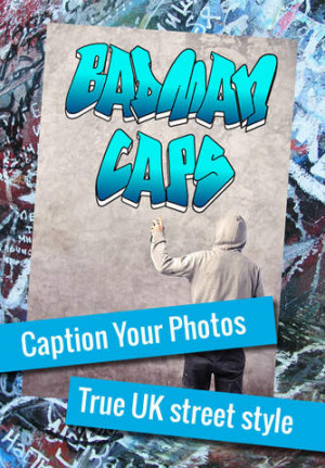URL to the App Store for Badman Caps – Write LOL Funny Urban Quotes ...